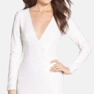 Dress the Population Body Con Sequin Dress